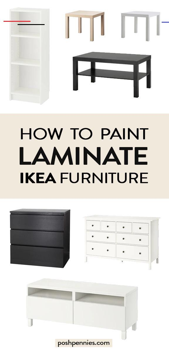 can you chalk paint ikea furniture