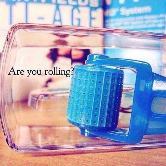 ✨Are you ROLLING?!?✨ If not, you need to be!! Did you know R+F's AMP MD roller works for the following skin concerns: Wrinkles Acne scars Turkey neck Stretch marks Smoother and softer skin Believe it or not this simple little roller can solve it all!! Right now I have a special that includes this and more!! Everyone could benefit from adding this simple step to their skincare routine!
