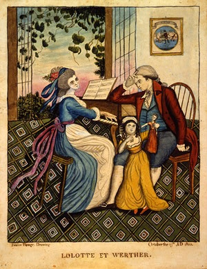Eunice Pinney  Lolotte and Werther, 1810