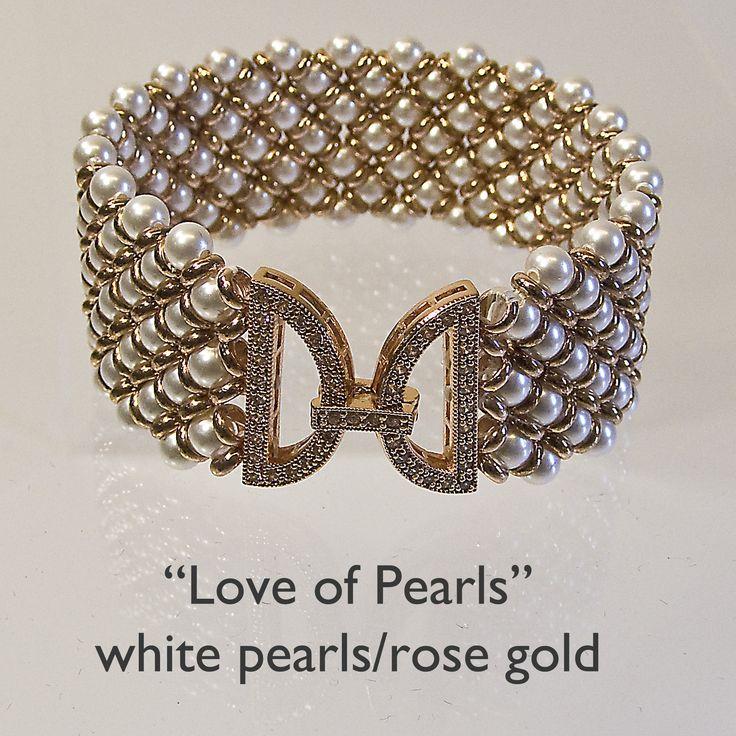 Love of Pearls Bracelet Kits from Ezel Findings