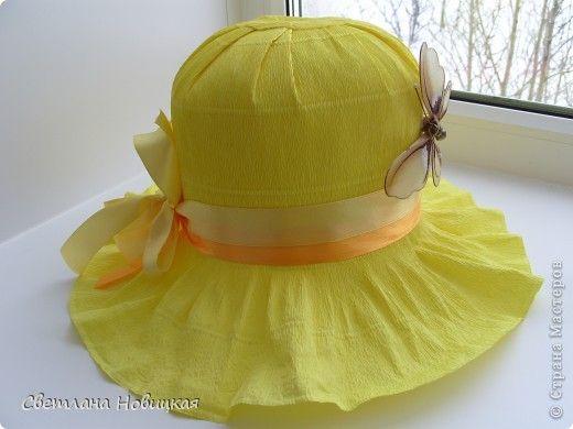 Сделать шляпу своими руками для девочек