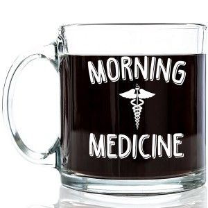 Morning Medicine Coffee Mug You could add a few Flavored Coffee Variety Sampler and give the rest in a small packet tied to the handle.