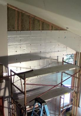 541 best images about energy efficiency on pinterest - Insulating existing interior walls ...