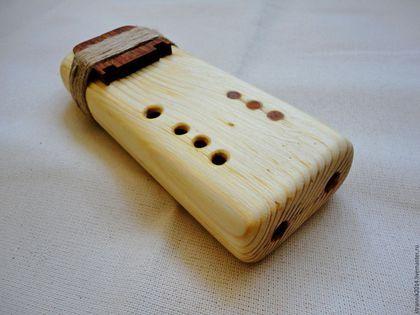 Купить Пимак малый двойной - флейта любви, индейская флейта, подарок, подарок музыканту