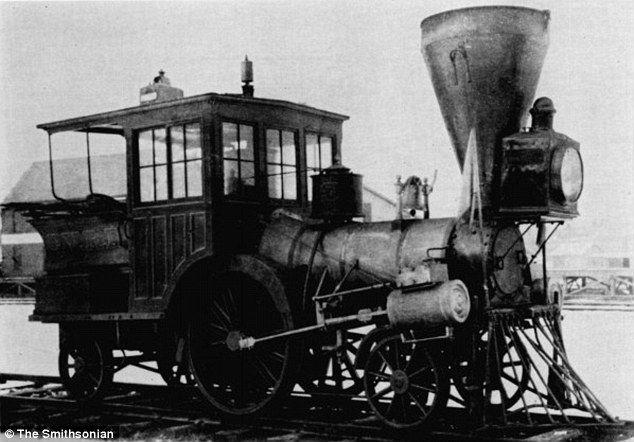 a Pioneer steam locomotive.