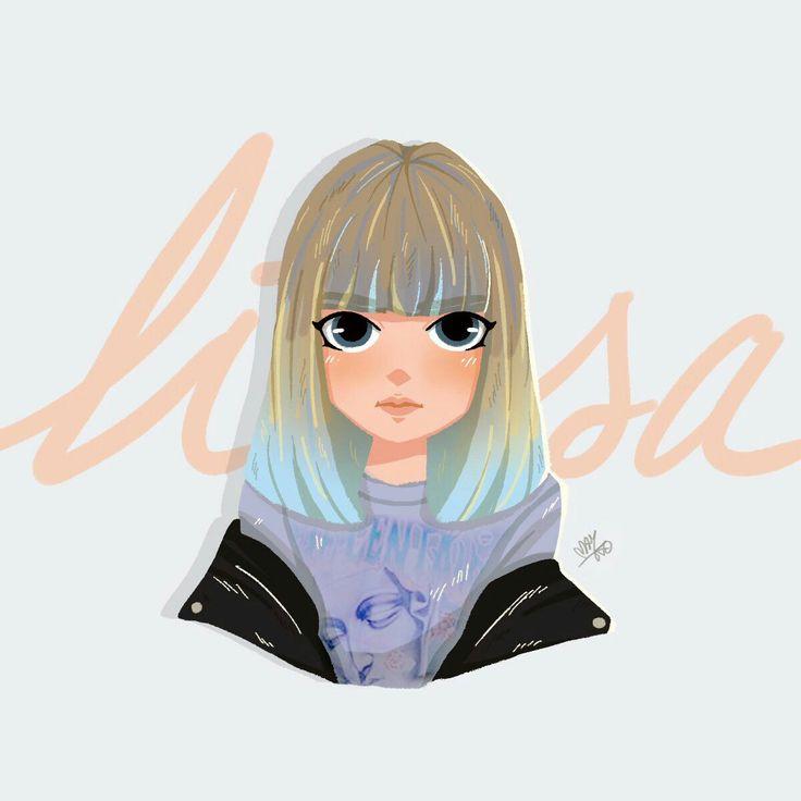 BlackPink/Lisa Fanart/#Marida
