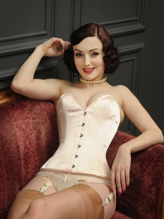 Girdle Classical 1 Pinterest Nylon Stockings Corset