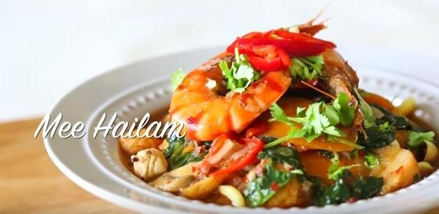 buat resepi mee hailam mudah   sedap resep masakan asia resep makanan makanan Resepi Mee Celup Enak dan Mudah