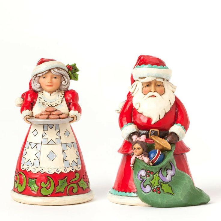 Best images about jim shore santa figurines on pinterest
