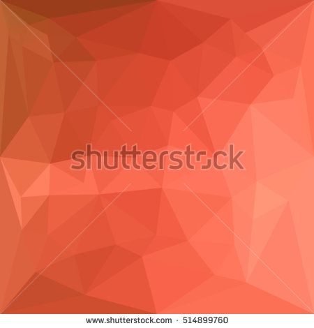 Low polygon style illustration of a light salmon abstract geometric background. #abstractbackground #lowpolygon #illustration