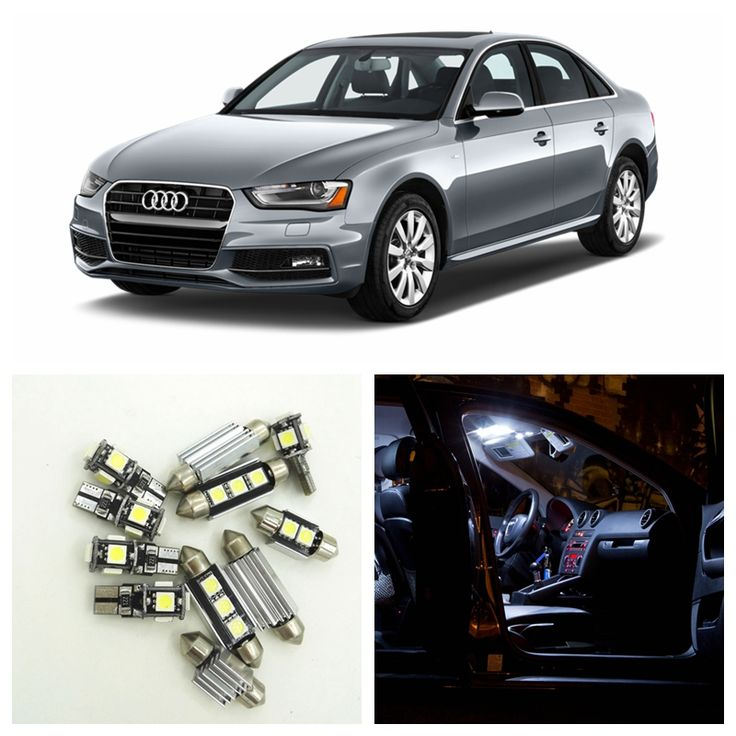 ==> [Free Shipping] Buy Best 18pcs Canbus Car White LED Light Bulbs Interior Package Kit For 2009-2015 Audi A4 B8 Avant Map Dome Trunk Vanity mirror Lamp Online with LOWEST Price | 32808280370