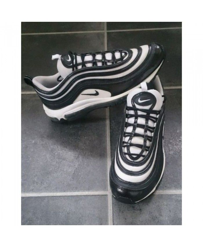 751a29cf214 Womens Nike Air Max 97 Oreo Black White Trainer