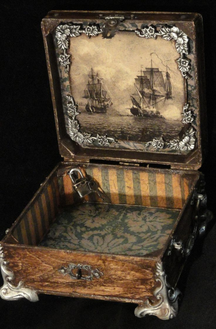 25 best altered boxes ideas on pinterest altered cigar for Cardboard cigar box crafts