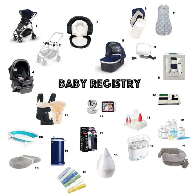 ButtonBlog Baby Registry // Tips and My Babylist list! //#ontheblog