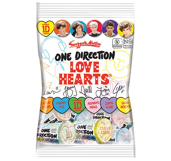 One Direction Love Hearts