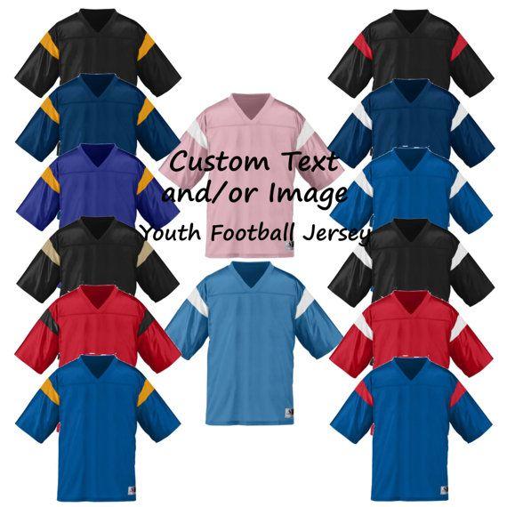 Custom Youth Football Jersey, Football Jersey, Custom Jersey, Custom Football Jersey, Football Shirt