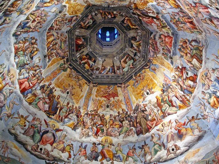 Interno Cupola del Brunelleschi