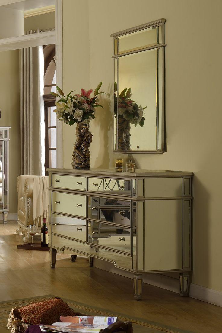 Venetian mirrors Modern Dresser With Mirror