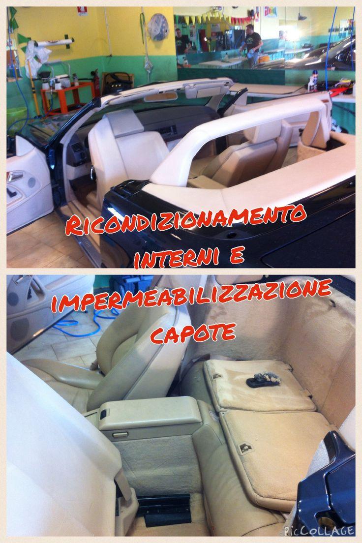 Pulizia, igienizzazione interni e impermeabilizzazione capote!!