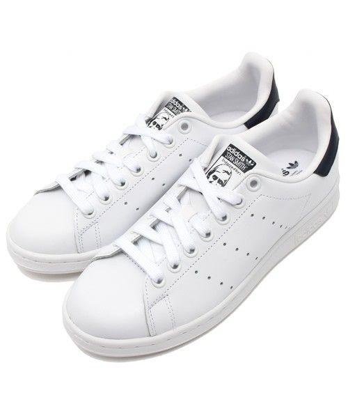 【ZOZOTOWN|送料無料】adidas(アディダス)のスニーカー「adidas アディダス STAN SMITH スタンスミス M20325 ABC-MART限定 RWHI/RWHI/NEWNAV        」(526920-0001)を購入できます。