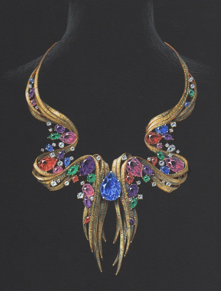 Pin by fay tiniakou on JEWELS ON ...PAPER in 2019 ...
