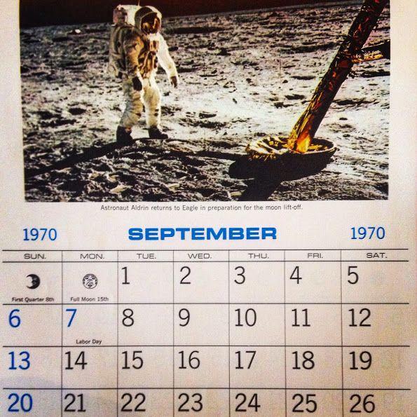 Astronaut Buzz Aldrin returning to the Lunar Lander during the 1969 Apollo 11 moon landing. #apollo11 #calendar #moonlanding #astronaut #buzzaldrin #nasa