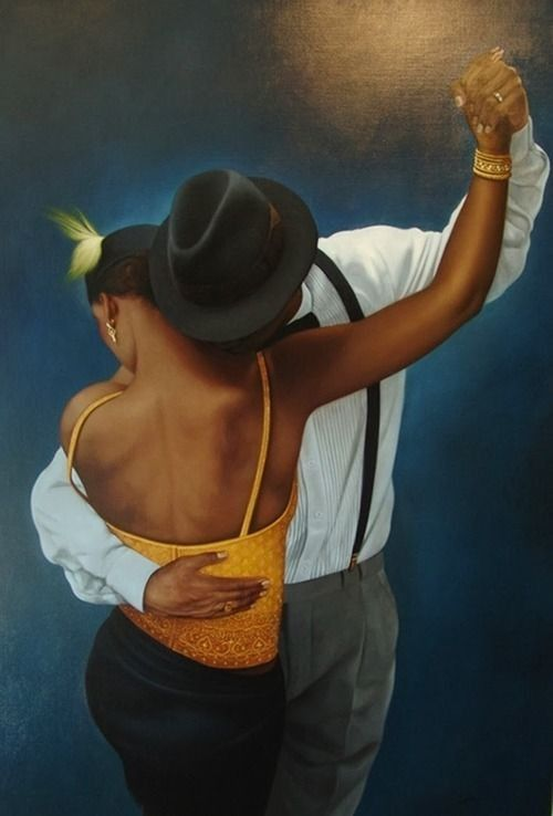 The Blues by Colombian painter Jorge Botero