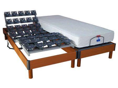 17 mejores ideas sobre sommier 2 plazas en pinterest cama de 2 plazas cama - Matelas de relaxation 2x80x200 cm ...
