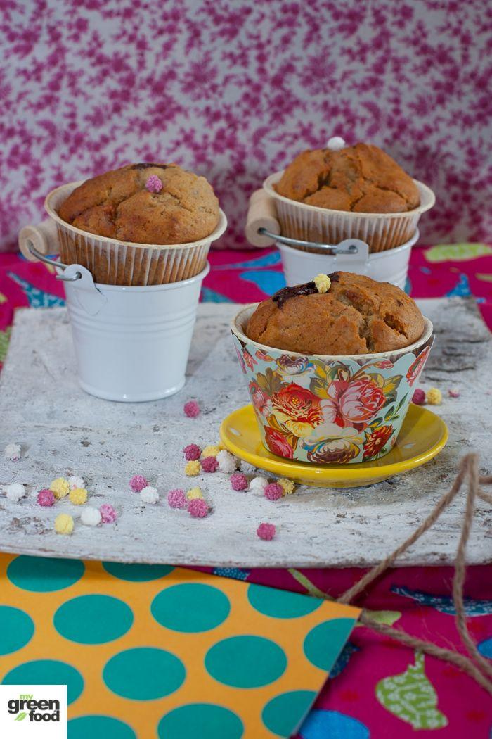I Muffins di Pippi con riso e farro