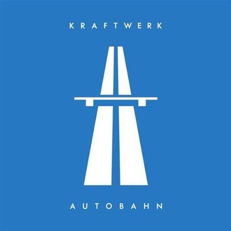 Peter Saville - Kraftwerk Autobahn Album Cover