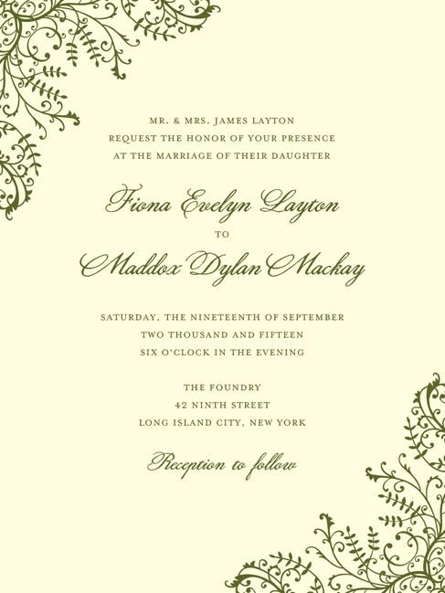 128 best Wedding Invitations images on Pinterest Wedding - bridal shower invitation samples