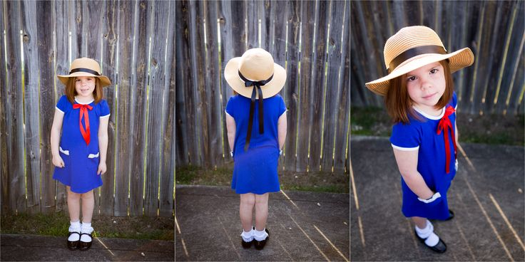 Girls Book Week Costume - Madeline!