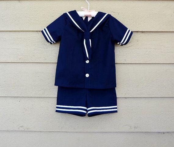 Navy dress white collar 3t