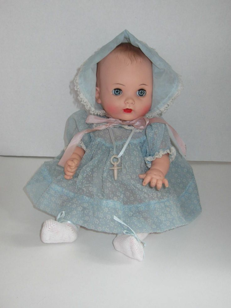 Effanbee My Fair Baby Doll Vintage Dolls Pinterest