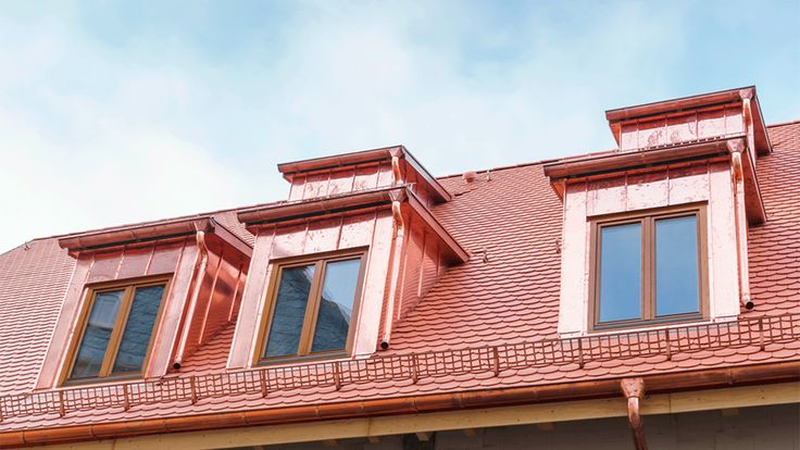 Copper roof repair in Montreal offered by Lambert roofing company and services. Copper roof material is resistant to high wind and moisture.