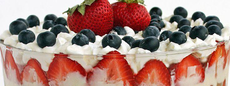 Zin in een zomers, luchtig dessert met lekker veel vers fruit? Hier vind je het Momentum-recept voor trifle met rood fruit. Het ideale toetje, want het is snel, makkelijk te bereiden en bijna iedereen vindt het lekker. Bovendien ziet het er supermooi en feestelijk uit. Een typisch geval van mmmmmmmm…..