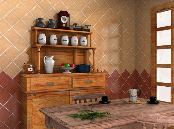10 images about decoraci n con azulejos on pinterest - Azulejos rusticos cocina ...