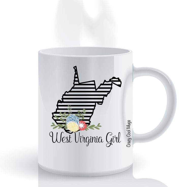 West Virginia Girl State Pride Coffee Mug