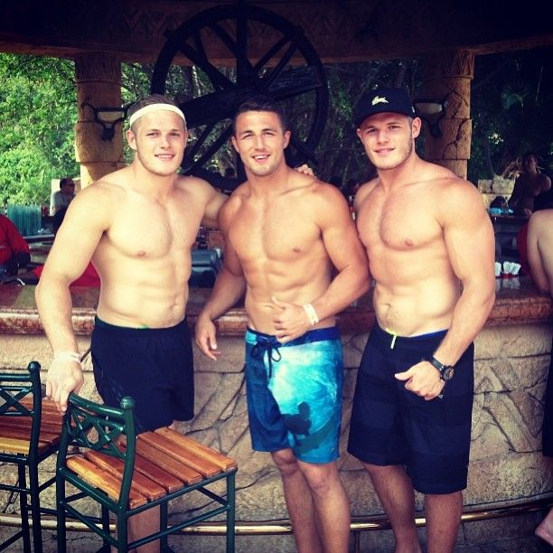 Three of the Burgess brothers