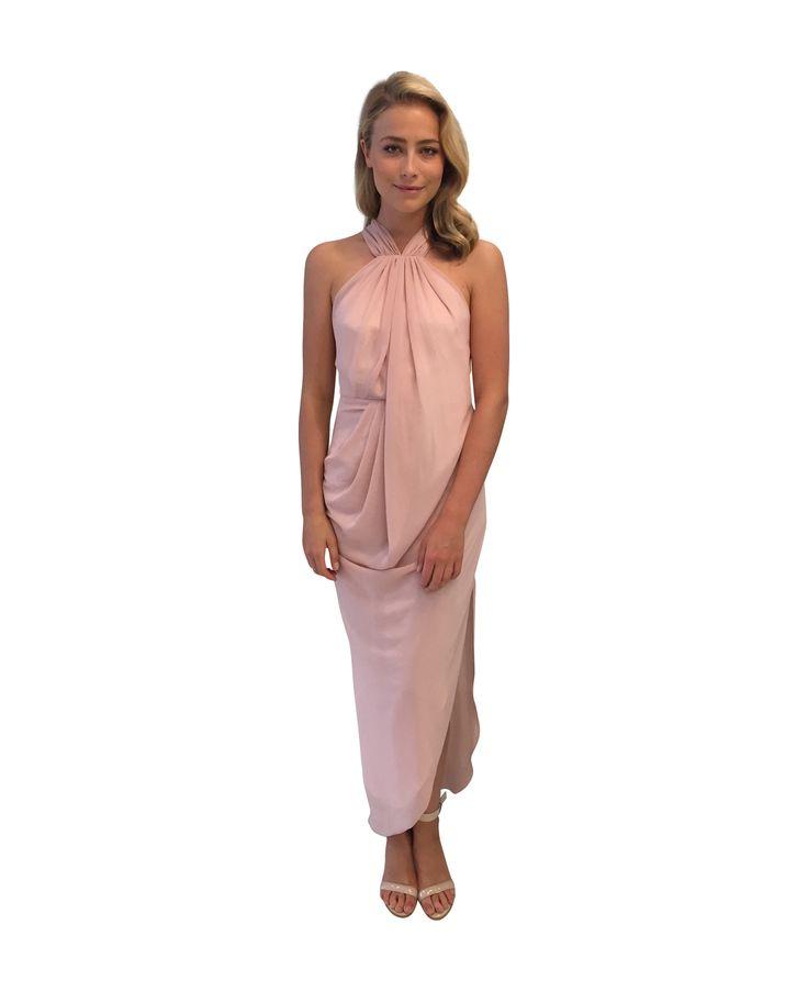 UNSPOKEN - Quartz Long Dress Blush