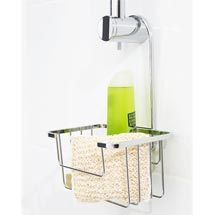 Croydex Hanging Shower Riser Rail Caddy - Chrome Plated Medium Image