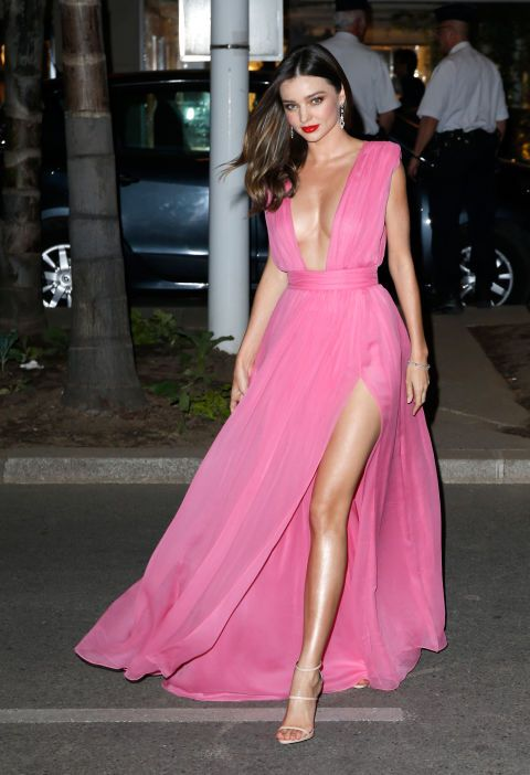 The best of the 2015 Cannes Film Festival red carpet: Miranda Kerr in Oroton.