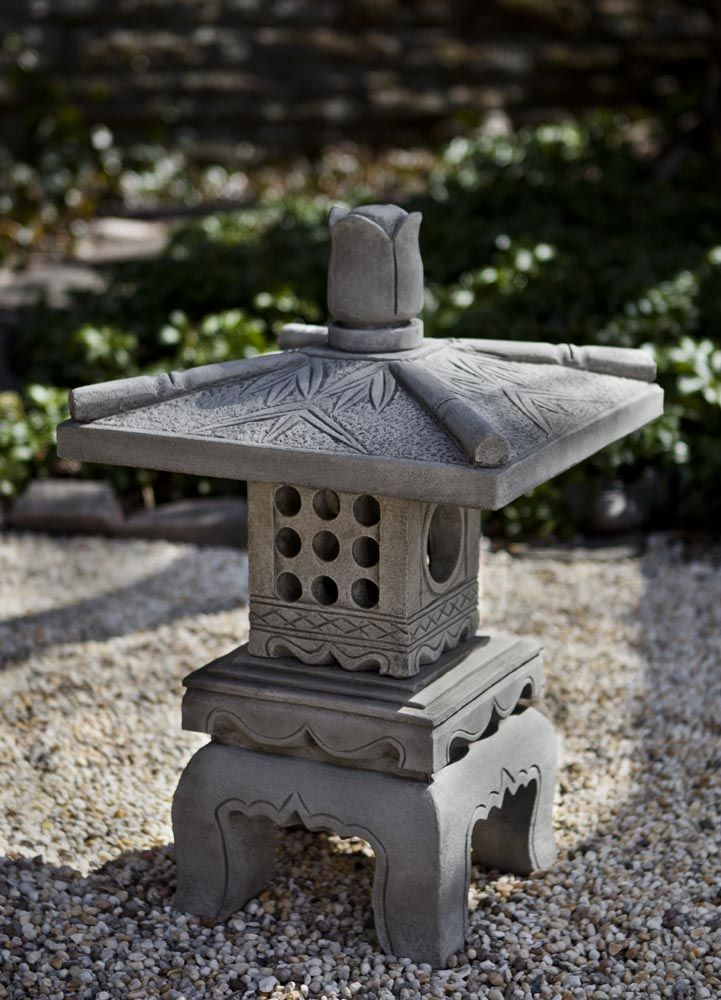 Bamboo Pagoda Cast Stone Pagoda Statue Made By Campania International