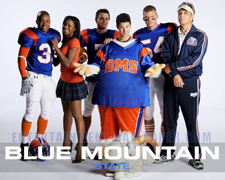 blue mountain state!! typical college shenanigans