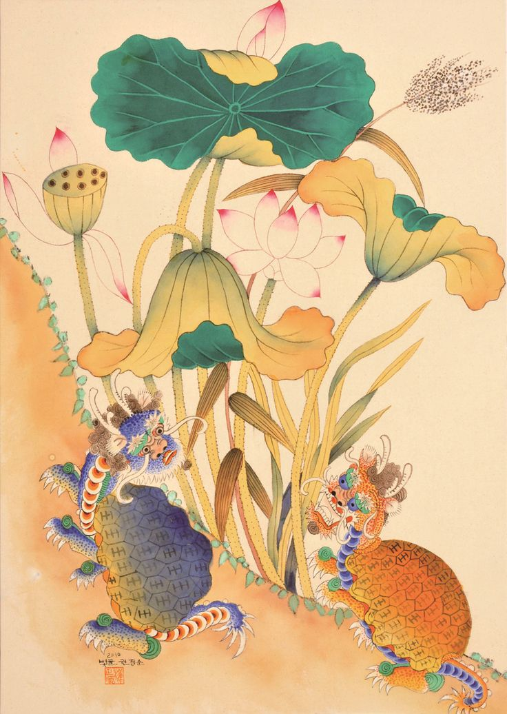 Minhwa 민화 (Korean traditional folk paintings)