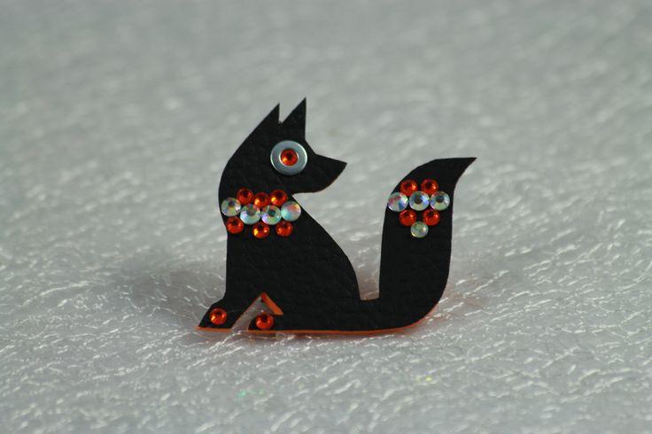 Čierna líštička Anežka