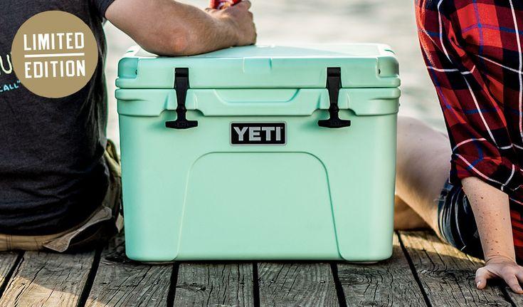 YETI | Tundra 35 Hard Cooler in SEAFOAM please!