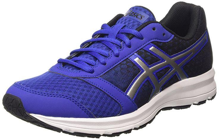 ASICS - Patriot 8, Zapatillas de Running Hombre, Azul (asics Blue/silver/black 4393), 44 EU