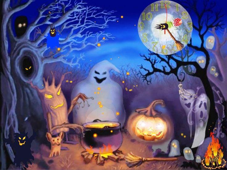 animated halloween wallpapers - Halloween Screensavers Animated