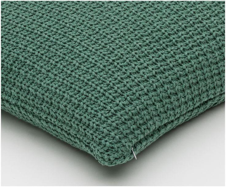Kissen Waffle Knit In Grun Von Gant Sorgt Fur Gemutlichkeit